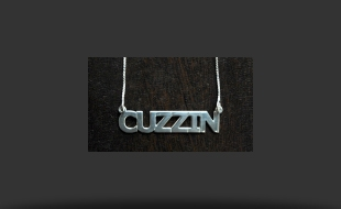 CUZZIN STERLING SILVER NECKLACE