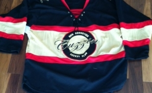 LIMITED EDITION OF DON BURNSTICK'S CUZZIN HOCKEY JERSEY